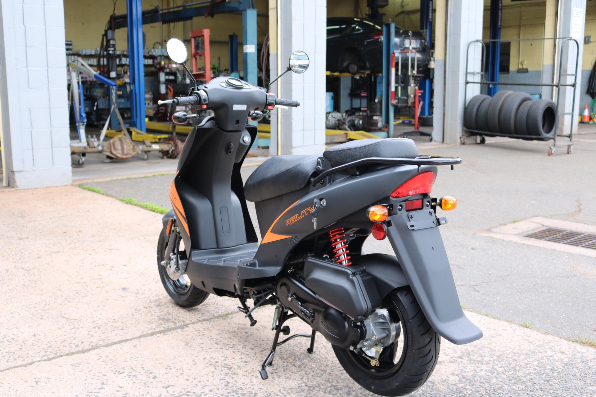 2021 Kymco Agility 50 in Enfield, Connecticut - Photo 3