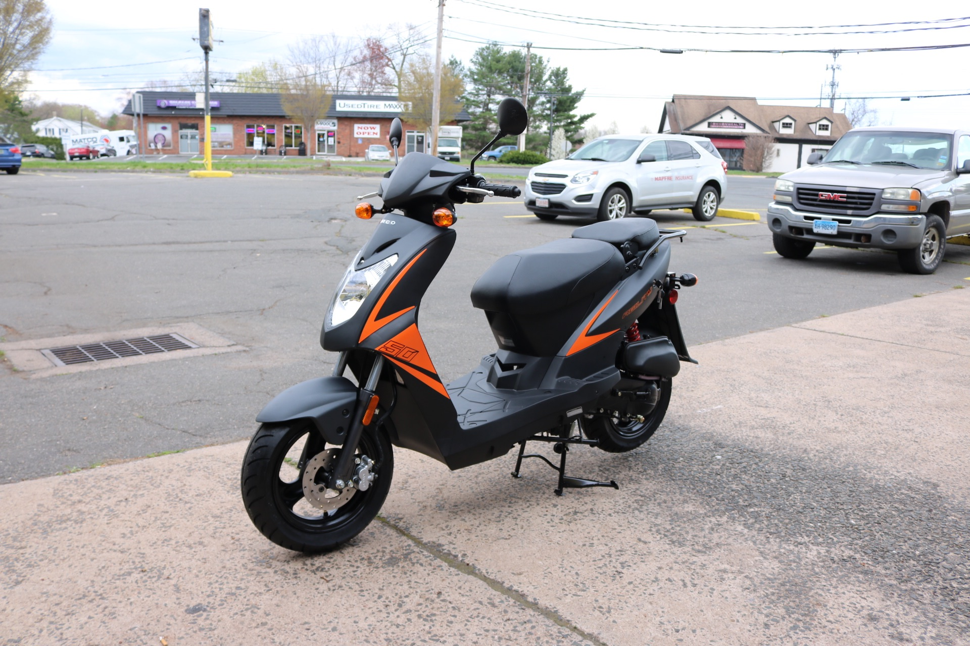 2021 Kymco Agility 50 in Enfield, Connecticut - Photo 5
