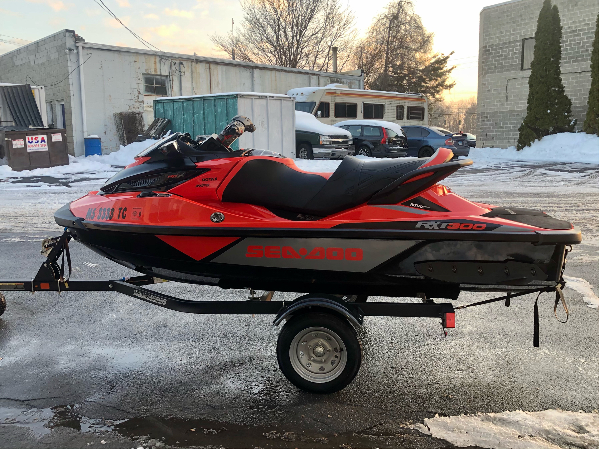 2016 Sea-Doo RXT-X 300 in Enfield, Connecticut - Photo 5