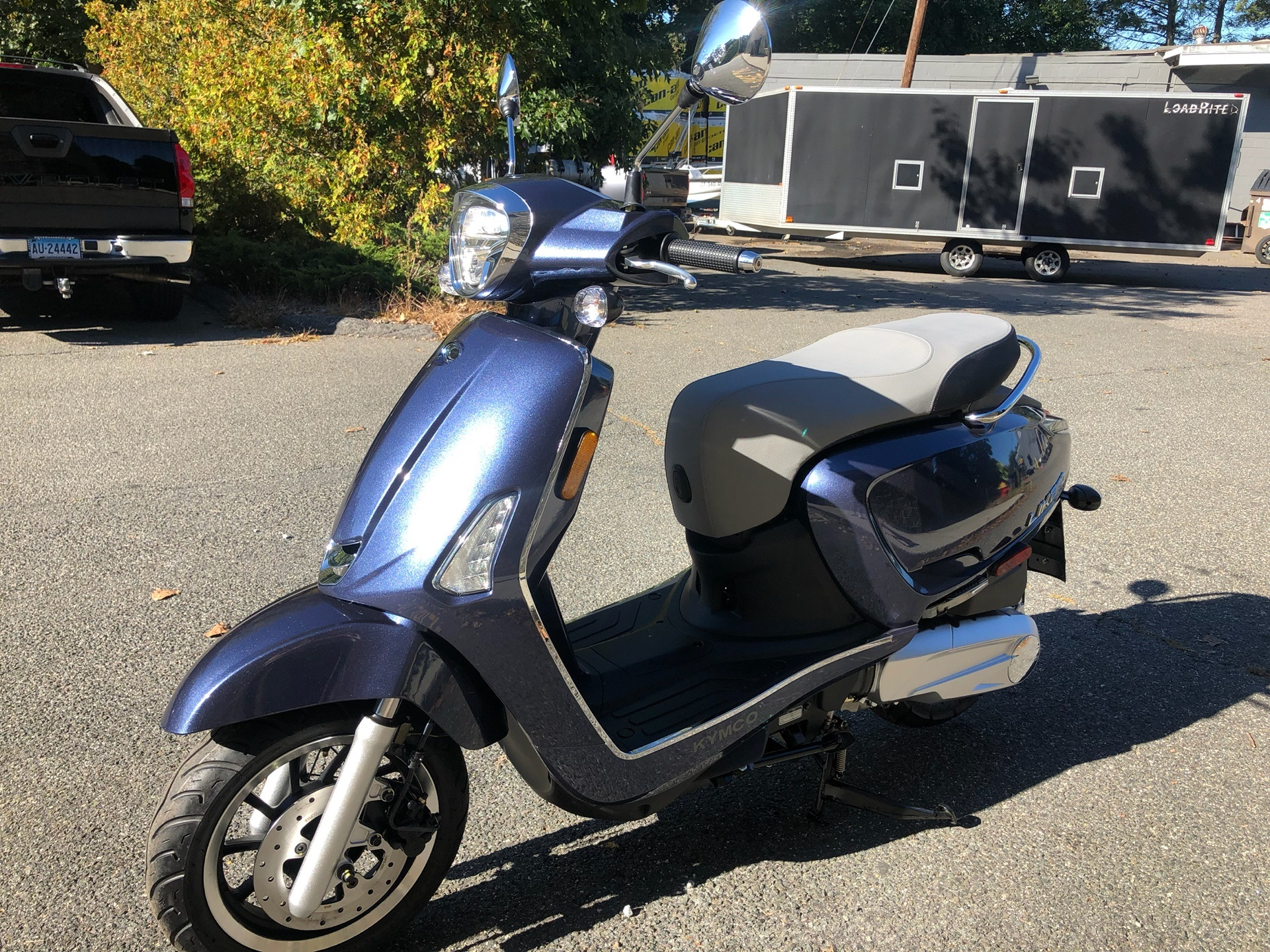2019 Kymco Like 150i ABS in Enfield, Connecticut - Photo 7