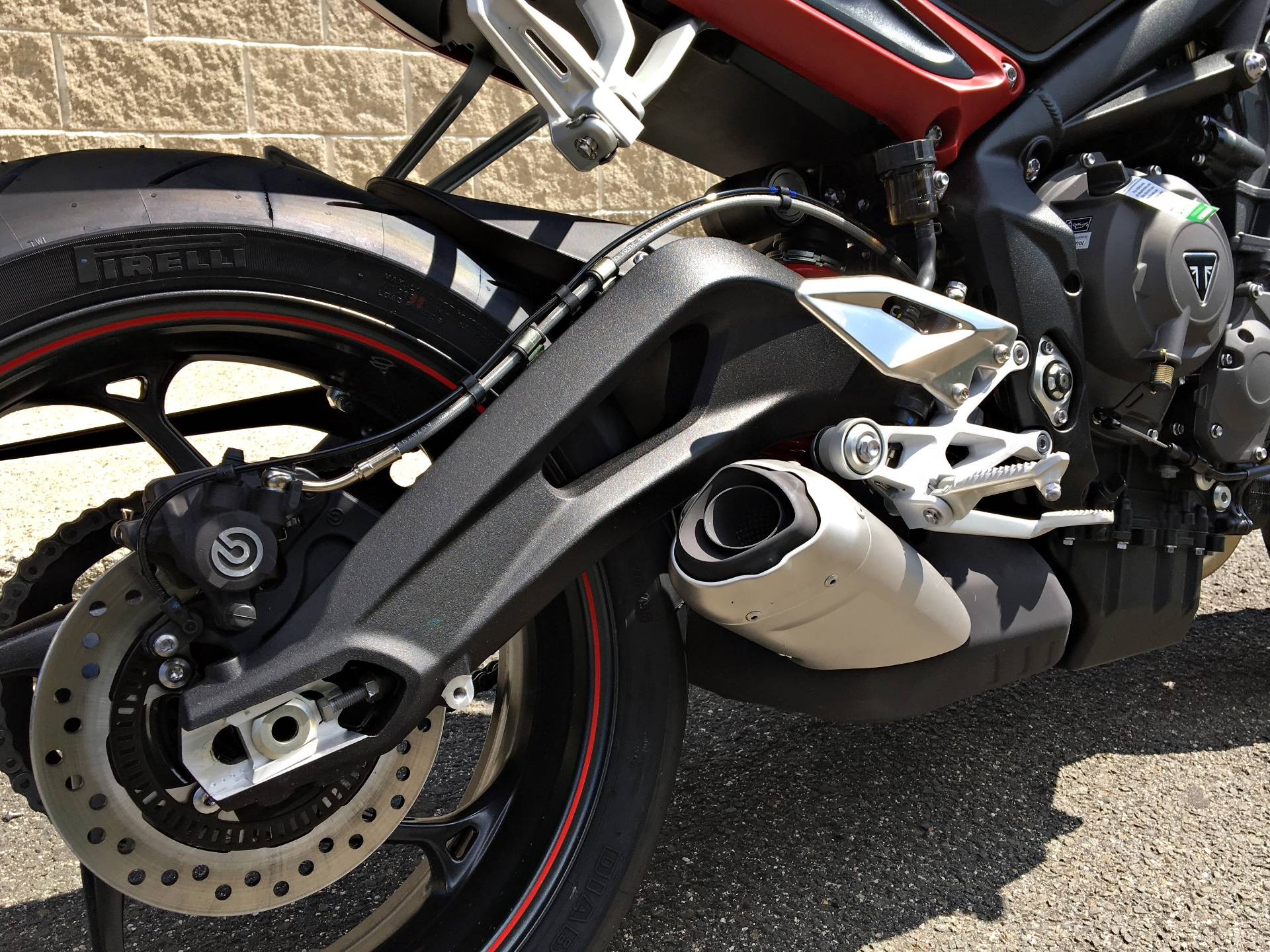 2018 Triumph Street Triple R in Enfield, Connecticut