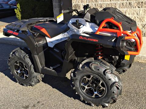 2017 Can-Am Outlander X mr 650 in Enfield, Connecticut