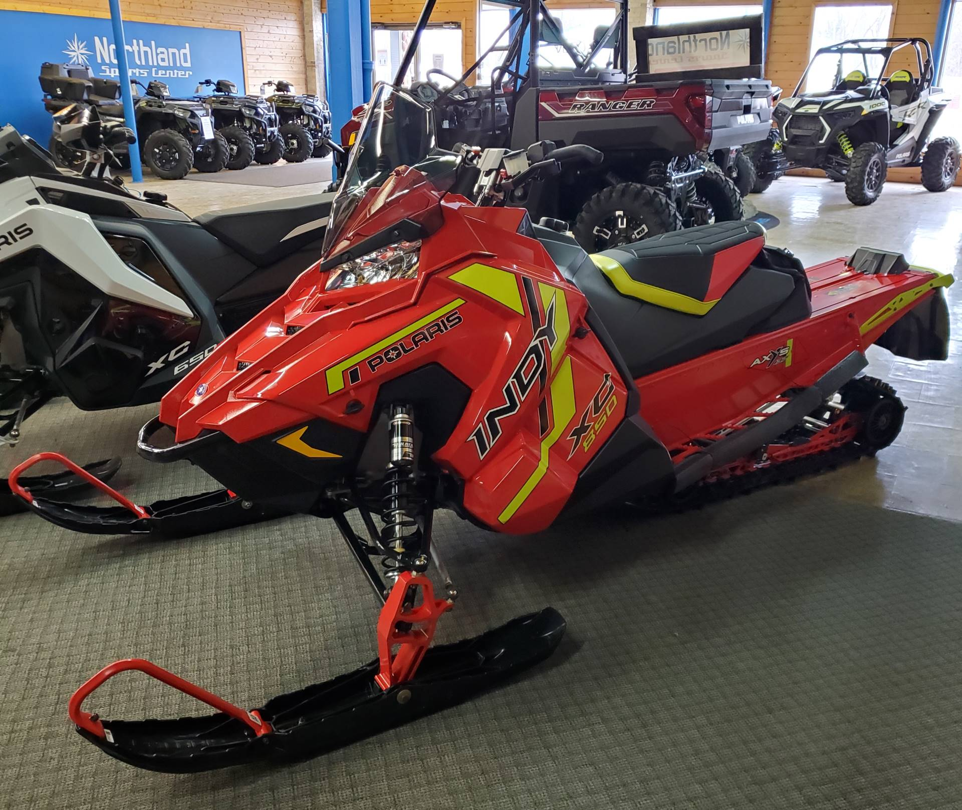 2021 Polaris 850 Indy XC 137 Factory Choice in Eagle Bend, Minnesota