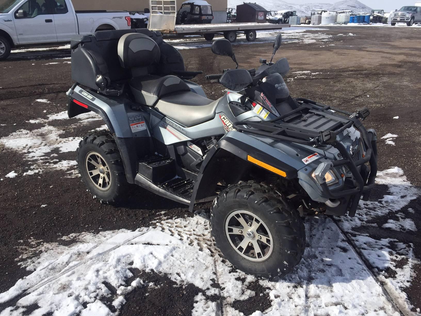 2007 Can-Am Outlander Max XT 800 LTD in Kamas, Utah