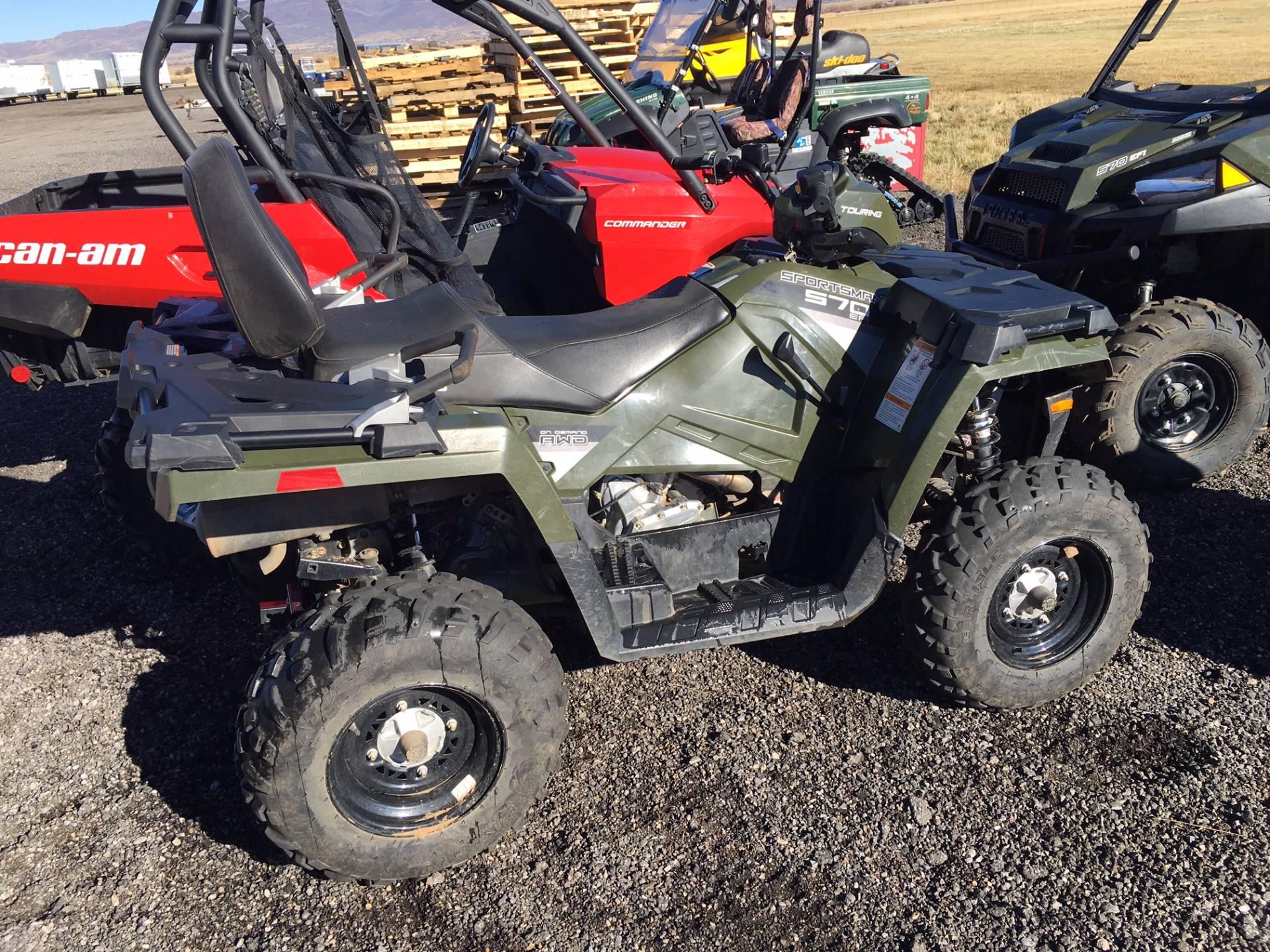 2016 Polaris Sportsman Touring 570 in Kamas, Utah