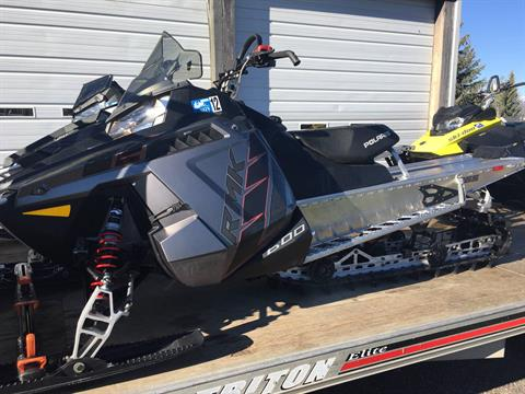 2016 Polaris 600 RMK 155 ES in Kamas, Utah