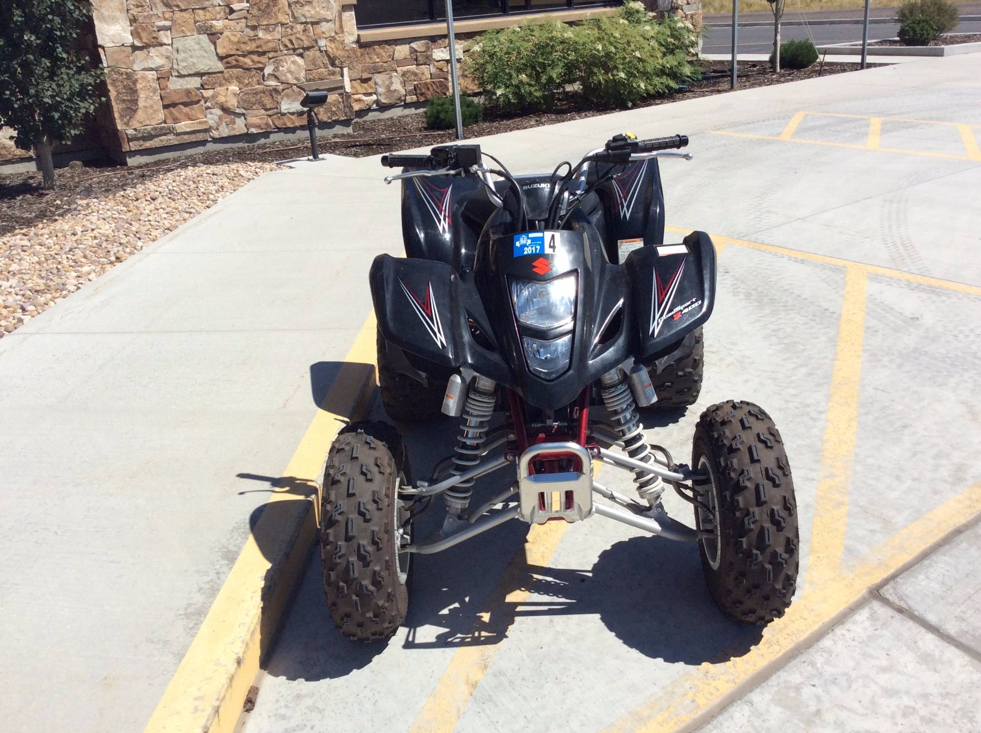 2007 Suzuki QuadSport® Z400™ in Kamas, Utah