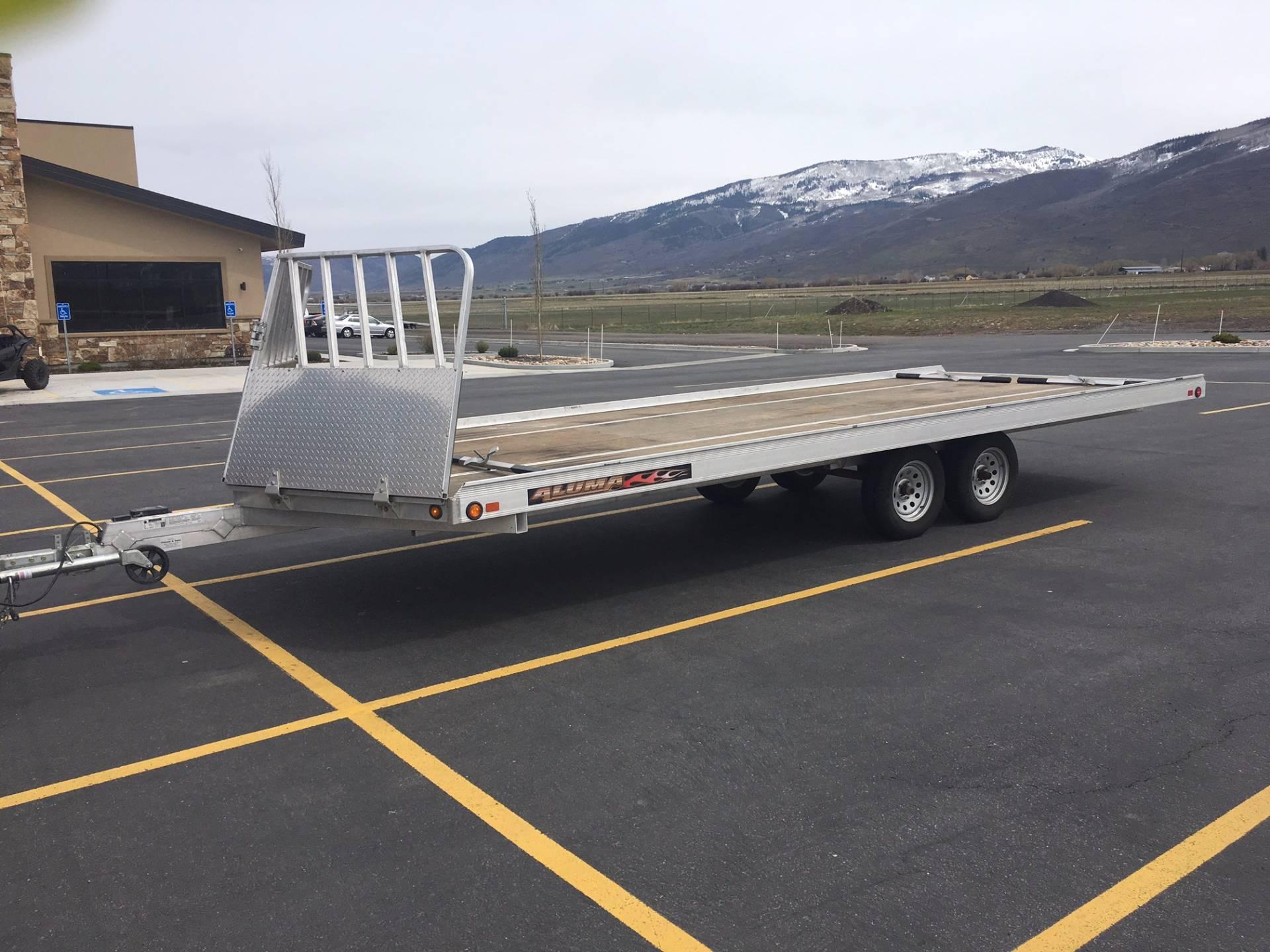 2012 ALUMA Snowmobile Trailer in Kamas, Utah