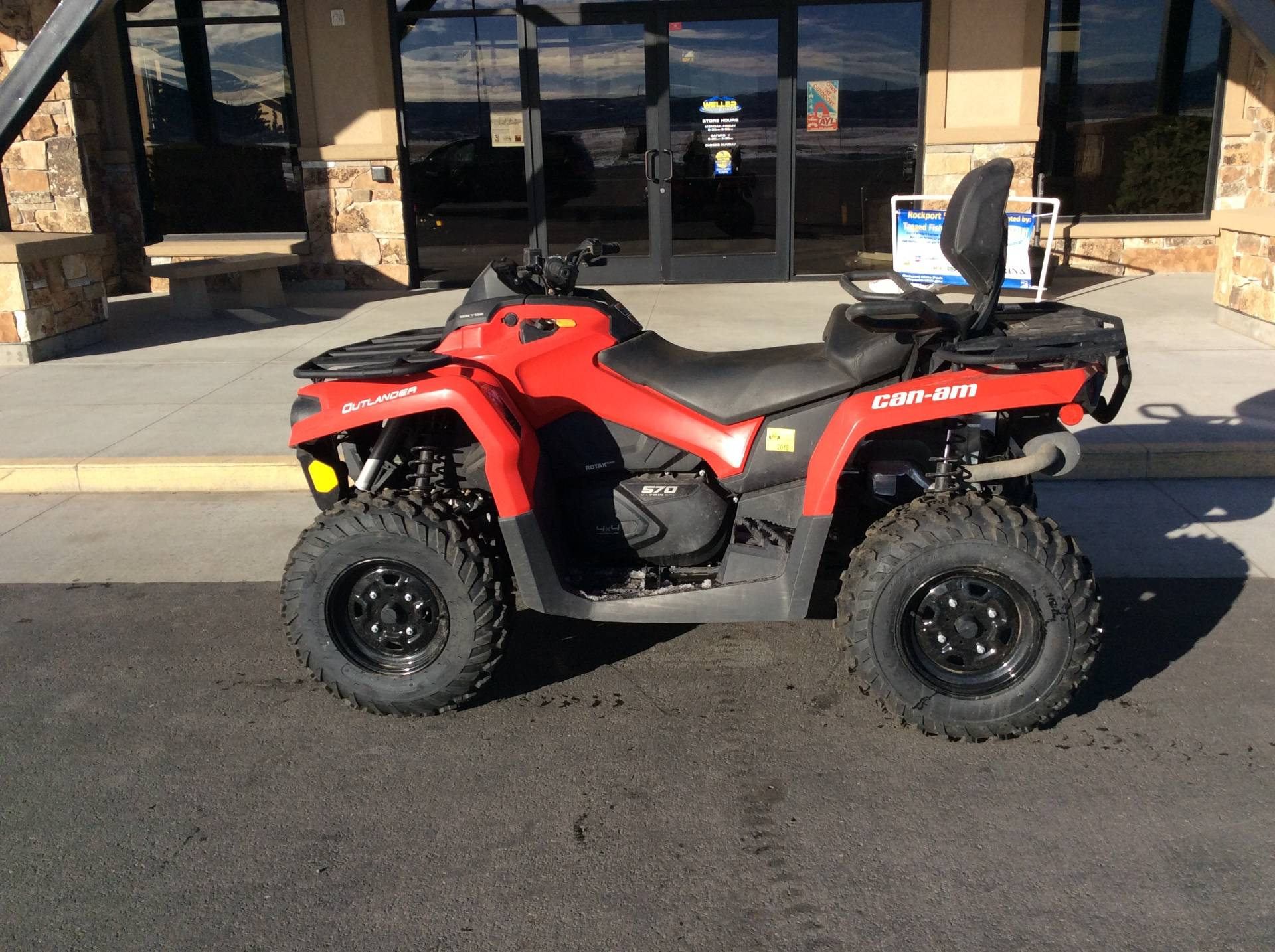 2017 Can-Am Outlander MAX 570 in Kamas, Utah