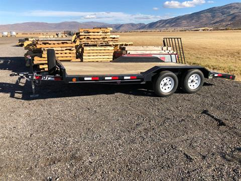 2012 PJ Trailers 16ft Dual Axle Flatbead in Kamas, Utah