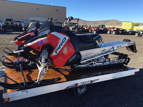 2016 Polaris 800 Pro-RMK 163 in Kamas, Utah