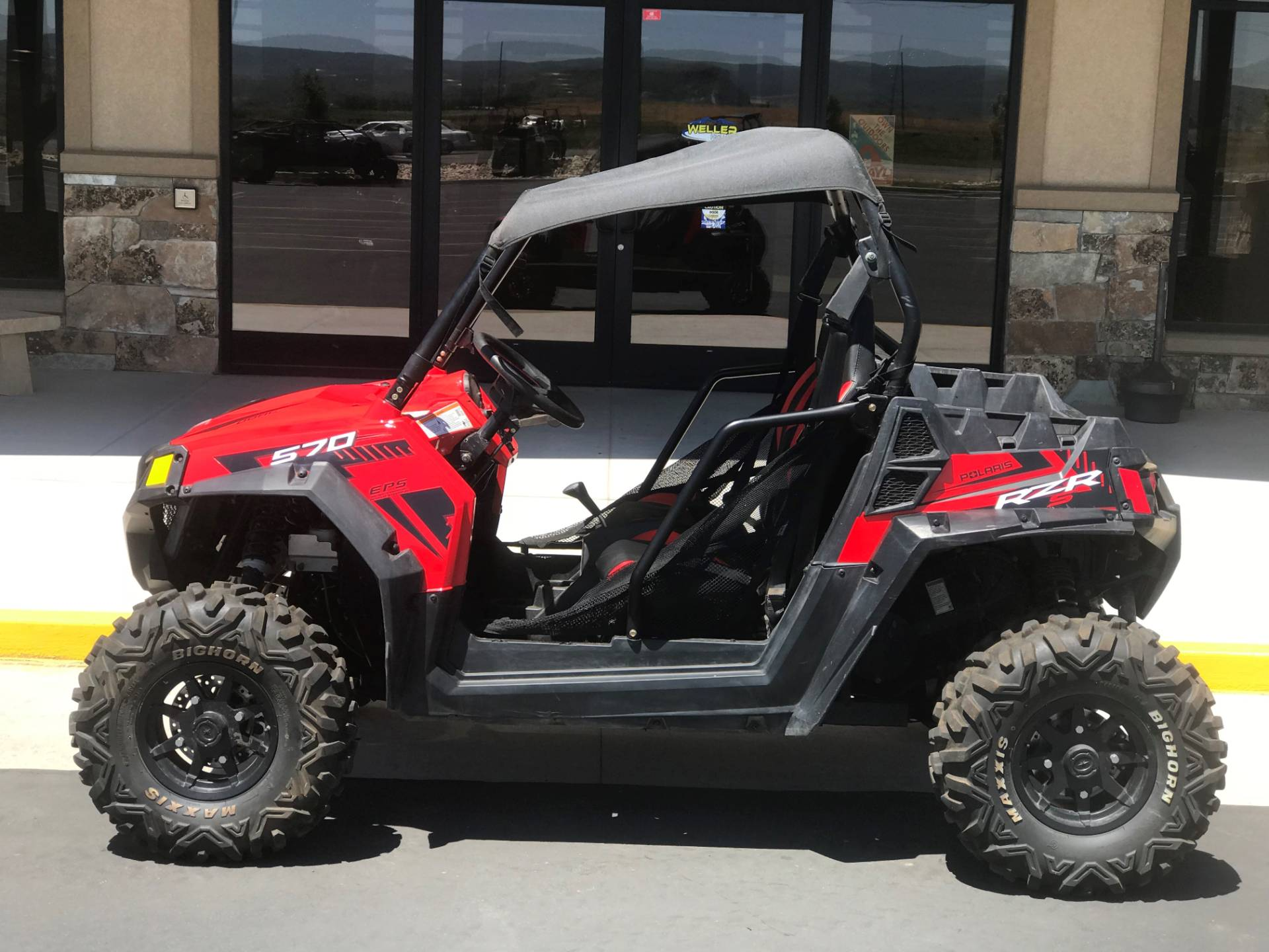 2017 Polaris RZR S 570 EPS in Kamas, Utah