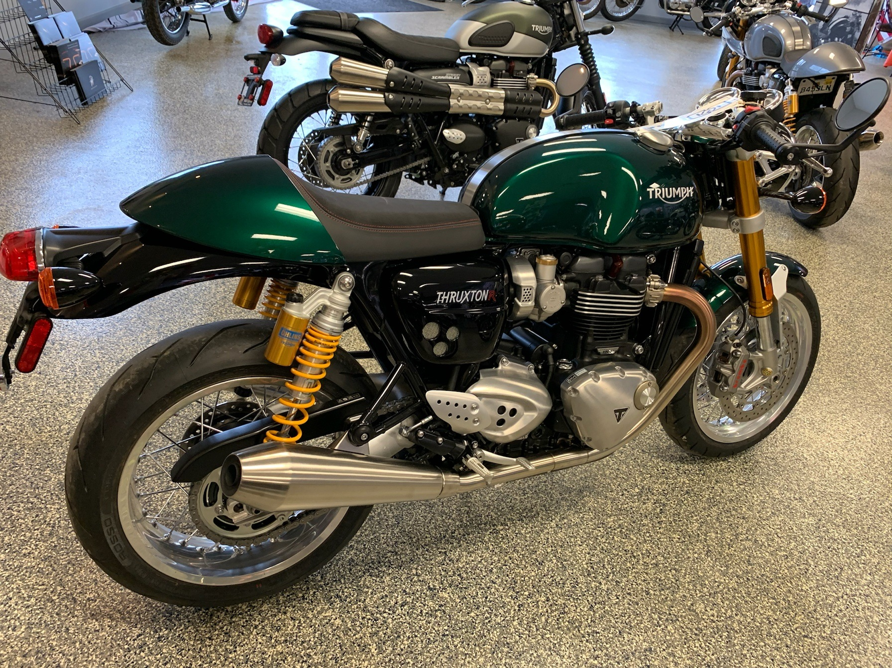 2019 Triumph Thruxton 1200 R in Pensacola, Florida - Photo 8