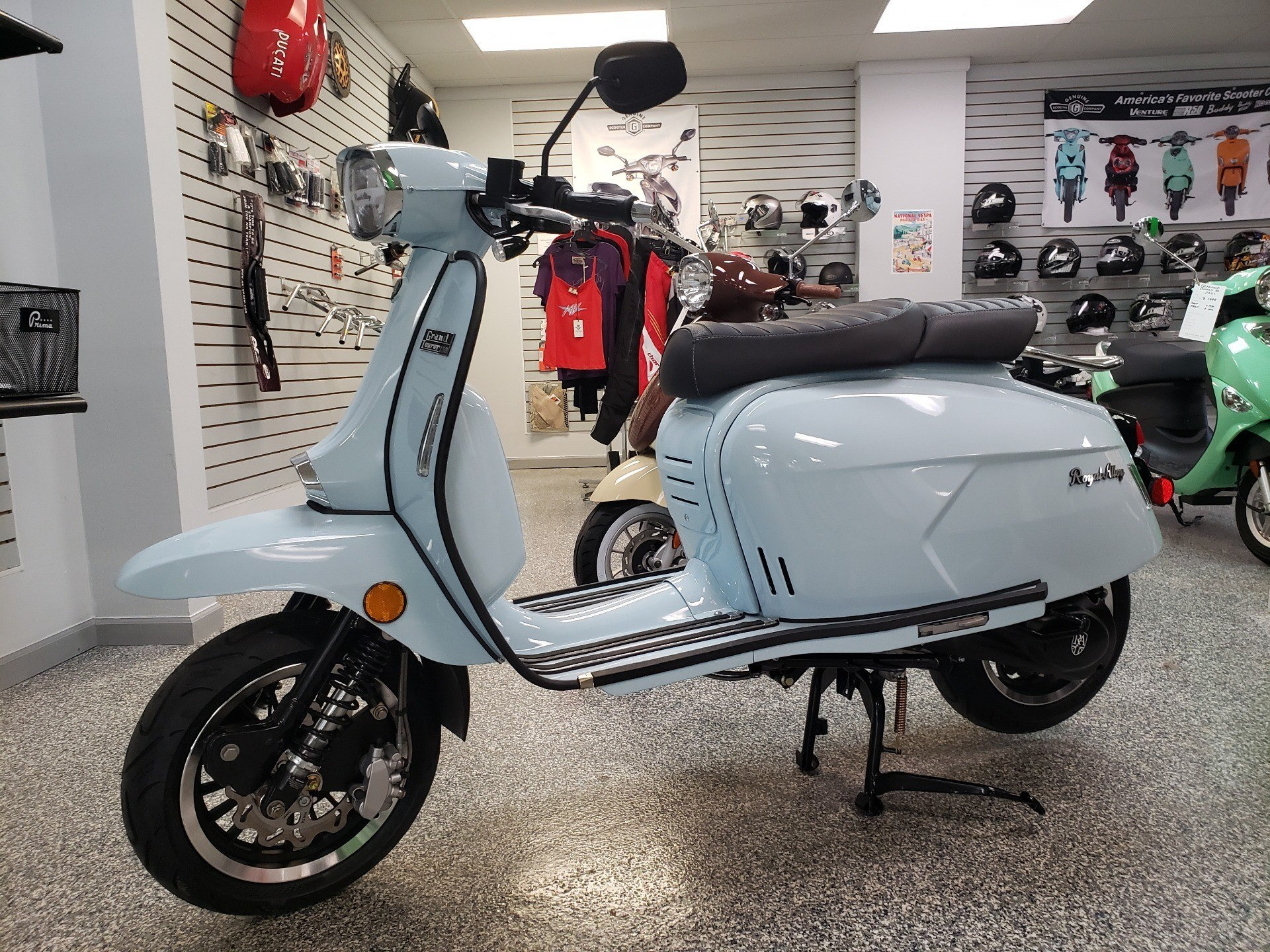 2020 Genuine Scooters Grand Tourer 150 in Pensacola, Florida - Photo 1