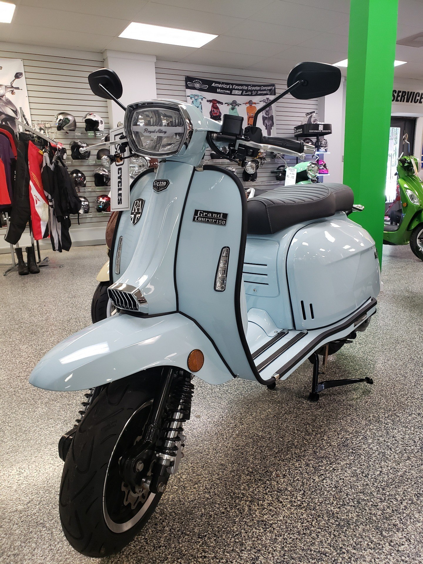 2020 Genuine Scooters Grand Tourer 150 in Pensacola, Florida - Photo 2