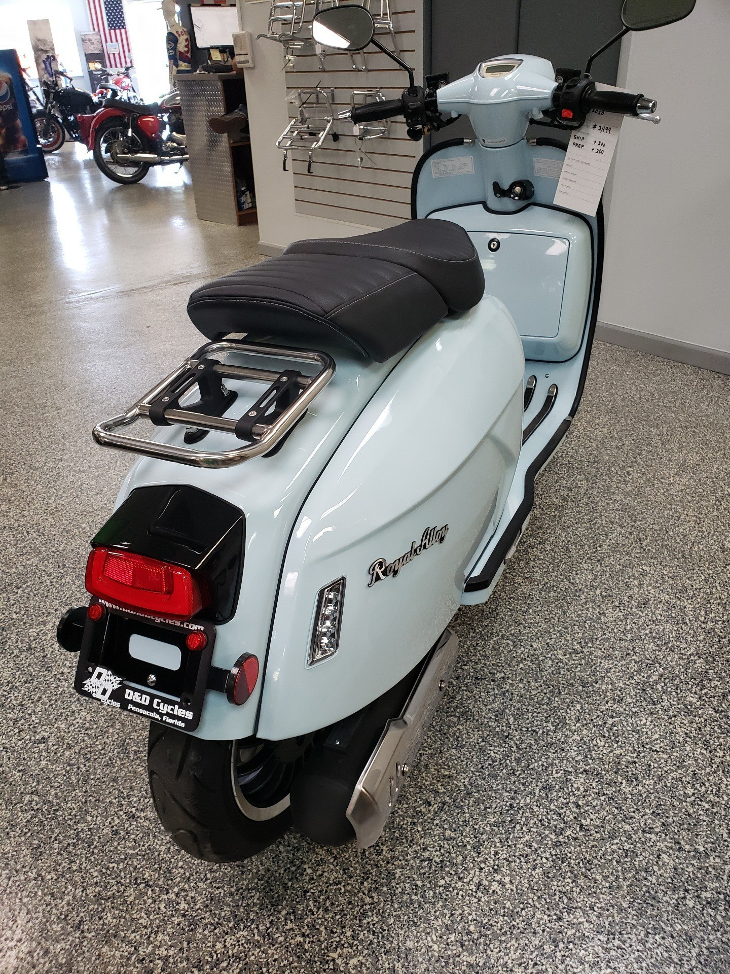 2020 Genuine Scooters Grand Tourer 150 in Pensacola, Florida - Photo 5