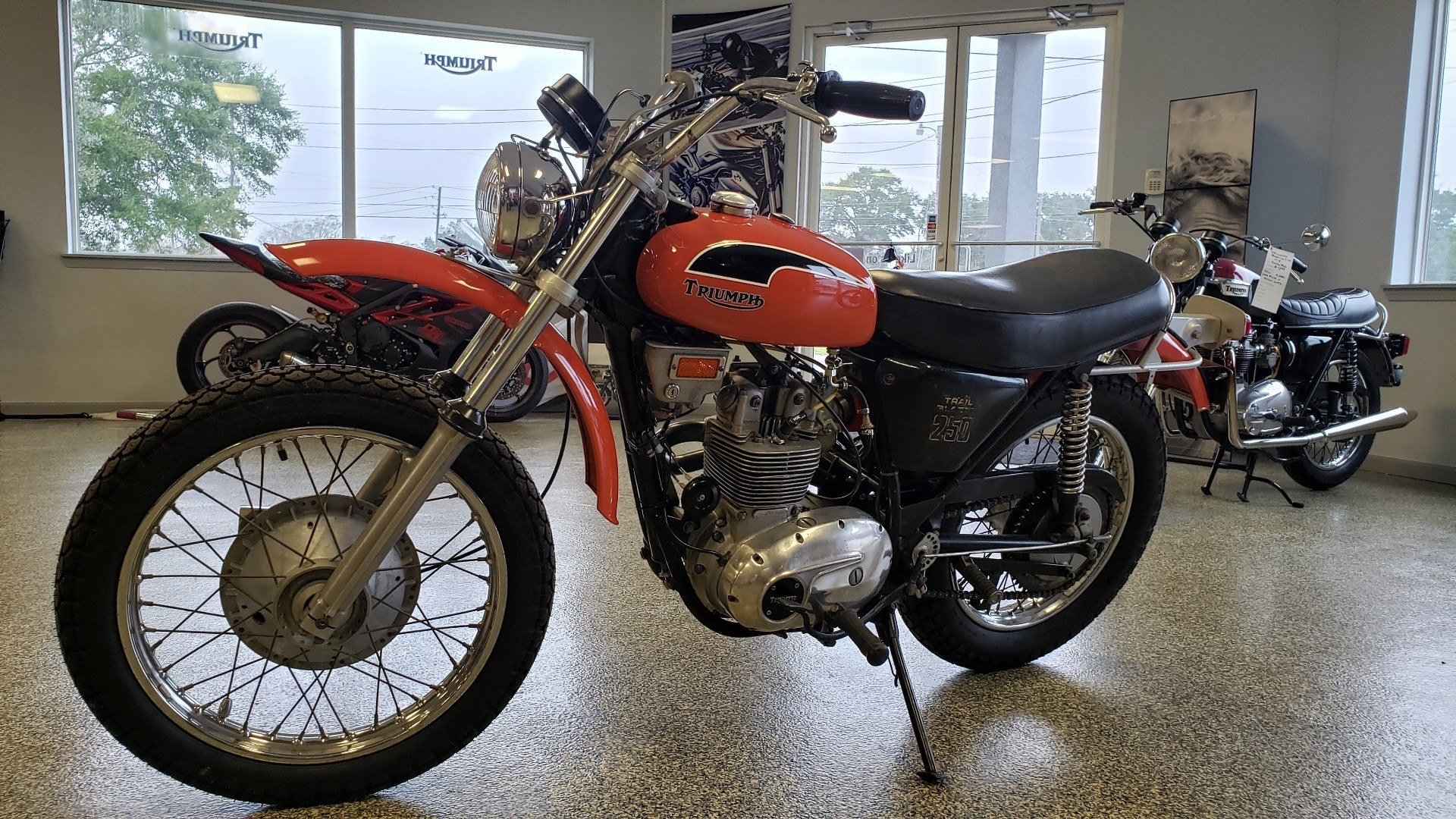 1971 Triumph TB250 in Pensacola, Florida - Photo 1