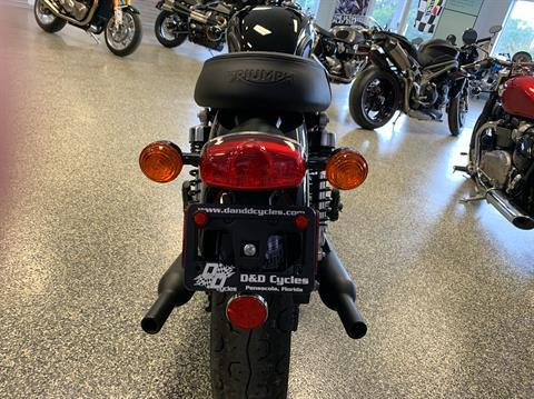2019 Triumph Bonneville T100 Black in Pensacola, Florida - Photo 3
