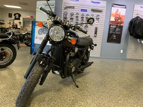 2019 Triumph Bonneville T100 Black in Pensacola, Florida - Photo 4