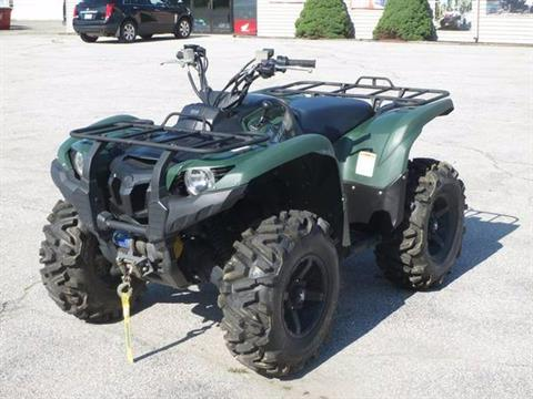 2015 Yamaha Grizzly 700 4x4 in Newport, Maine