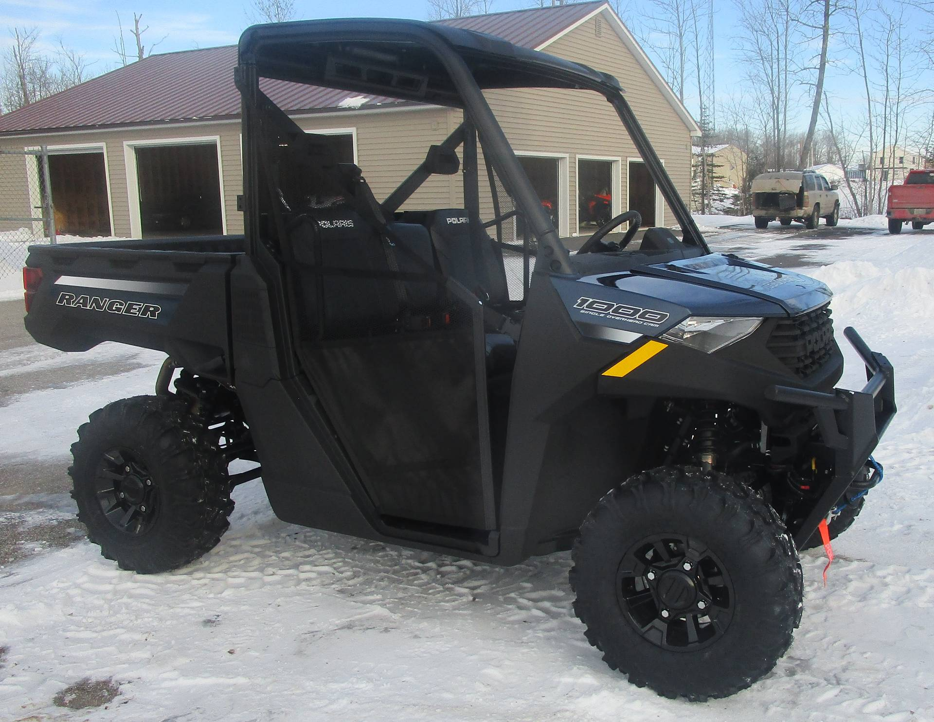 2021 Polaris Ranger 1000 Premium + Winter Prep Package in Newport, Maine - Photo 1