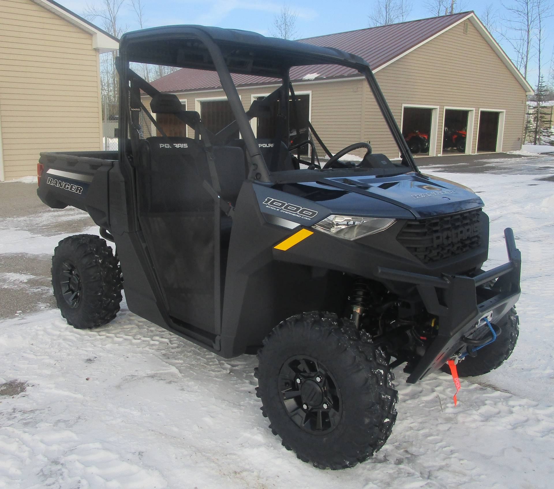 2021 Polaris Ranger 1000 Premium + Winter Prep Package in Newport, Maine - Photo 2