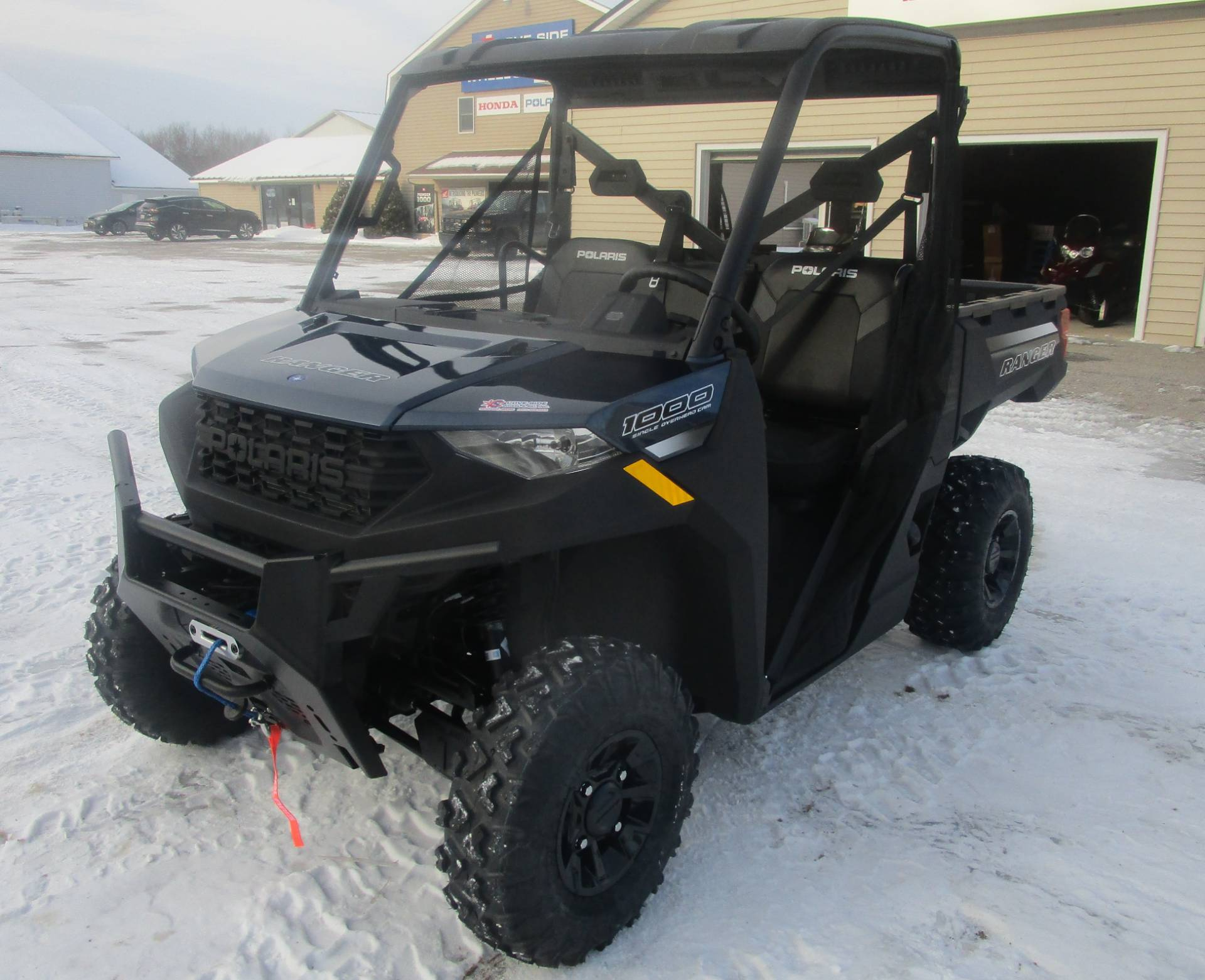 2021 Polaris Ranger 1000 Premium + Winter Prep Package in Newport, Maine - Photo 3