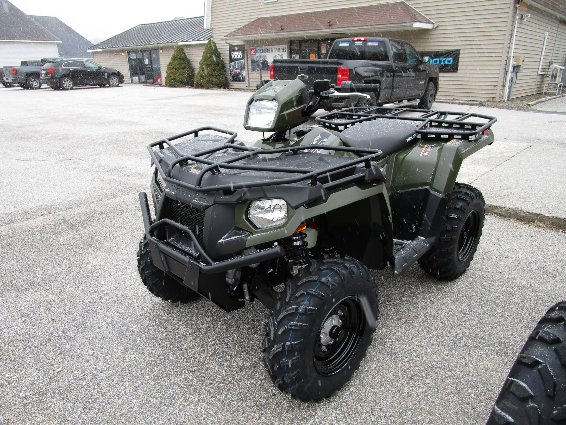 2020 Polaris Sportsman 450 H.O. Utility Package in Newport, Maine