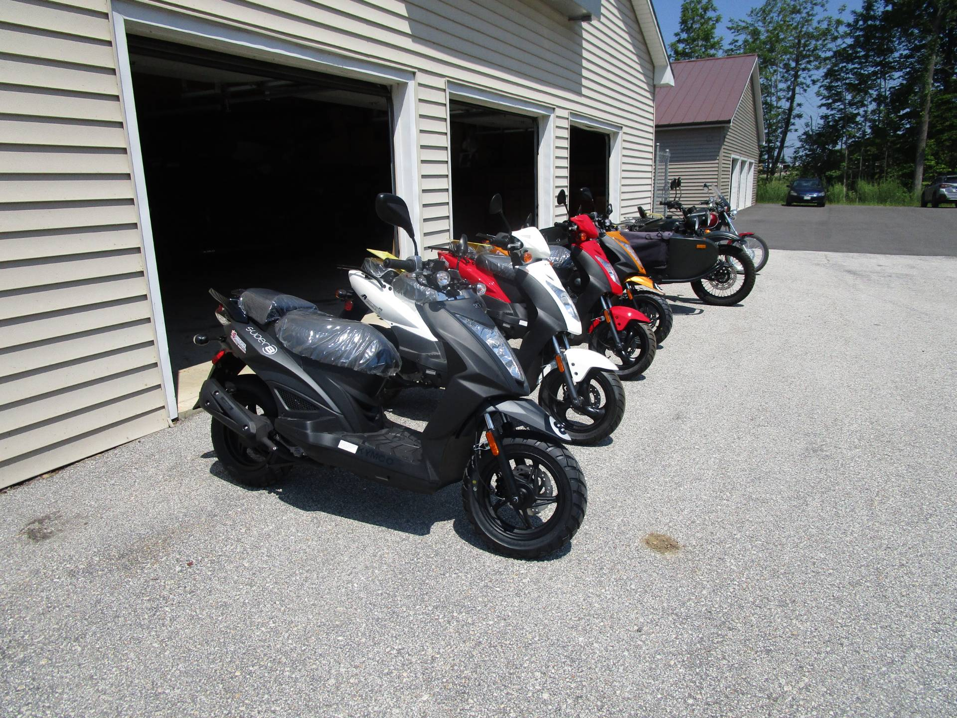 2020 Kymco Super 8 50X in Newport, Maine