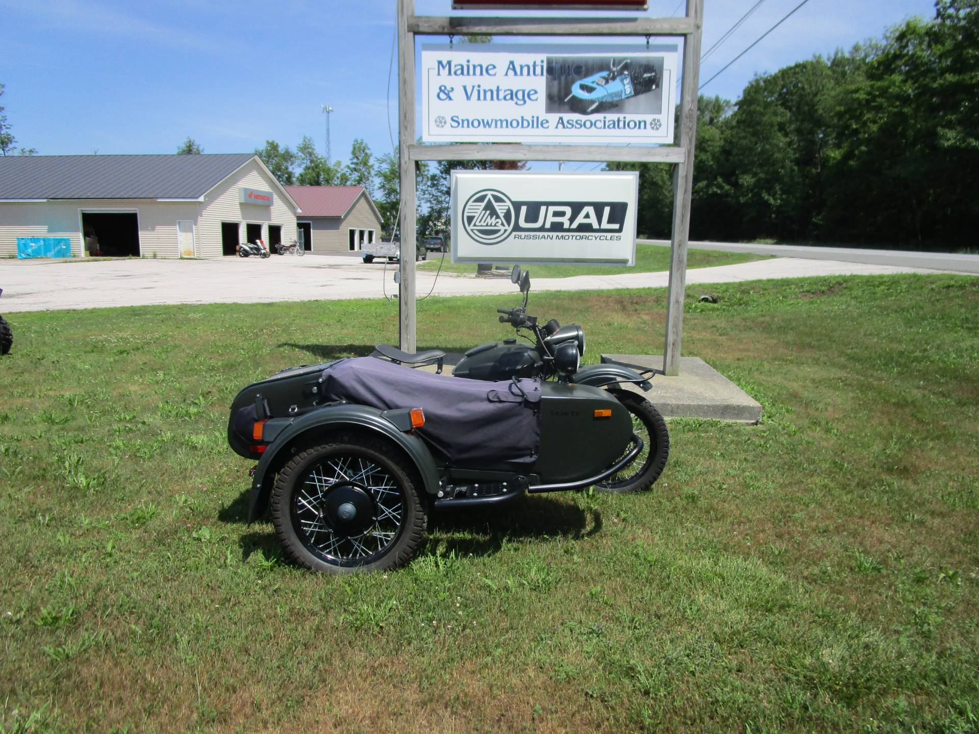2013 Ural Motorcycles Gear Up in Newport, Maine - Photo 1