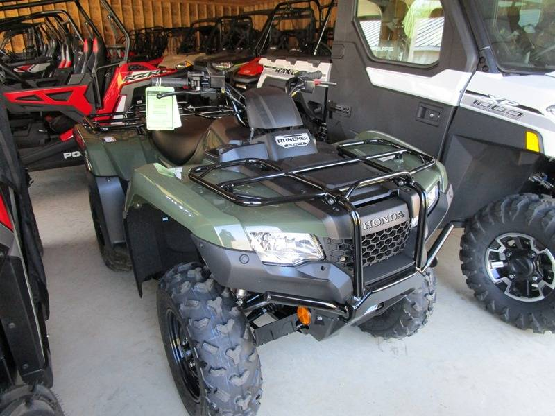 2019 Honda FourTrax Rancher 4x4 in Newport, Maine