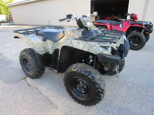 2016 Yamaha Grizzly 700 in Newport, Maine