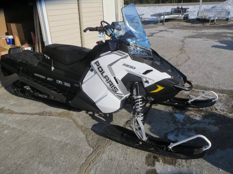 2018 Polaris 800 Titan SP 155 in Newport, Maine