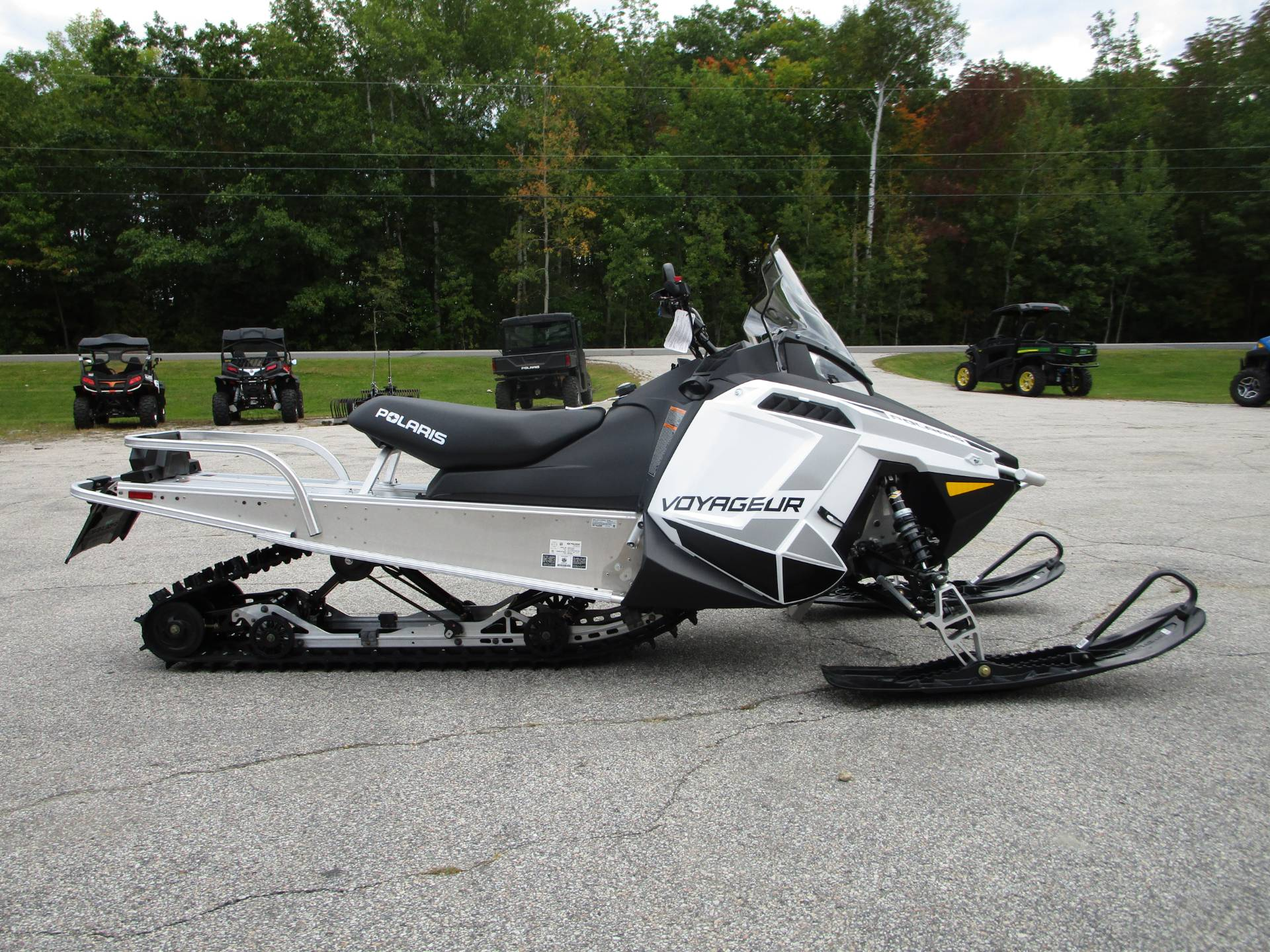 2020 Polaris 550 Voyageur 155 ES in Newport, Maine - Photo 1