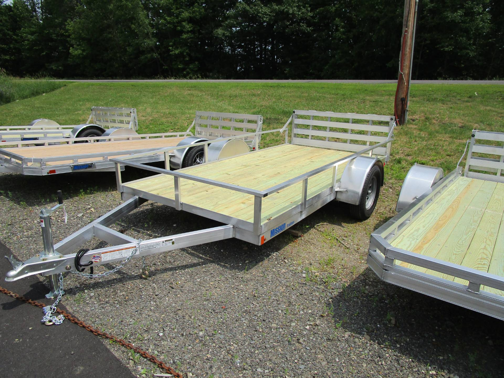 2019 Mission Trailers Standard Utility Models (MU72 x 10 WR-2.0) in Newport, Maine - Photo 1