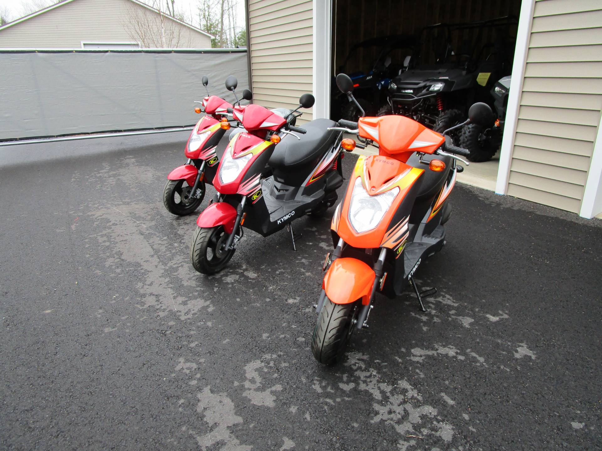 2017 Kymco Agility 125 in Newport, Maine - Photo 1