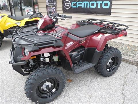 2017 Polaris Sportsman 450 H.O. Utility Edition in Newport, Maine