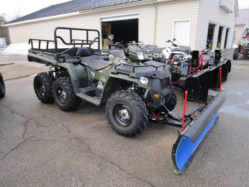 2017 Polaris Sportsman 570 Big Boss 6X6 EPS in Newport, Maine