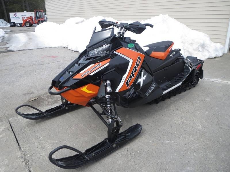 2016 Polaris 800 Switchback Pro X Snow Check Select Black Orange In Newport Maine