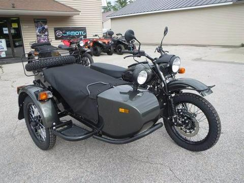 2017 Ural Motorcycles Gear Up Cascade Green  Special Edition in Newport, Maine