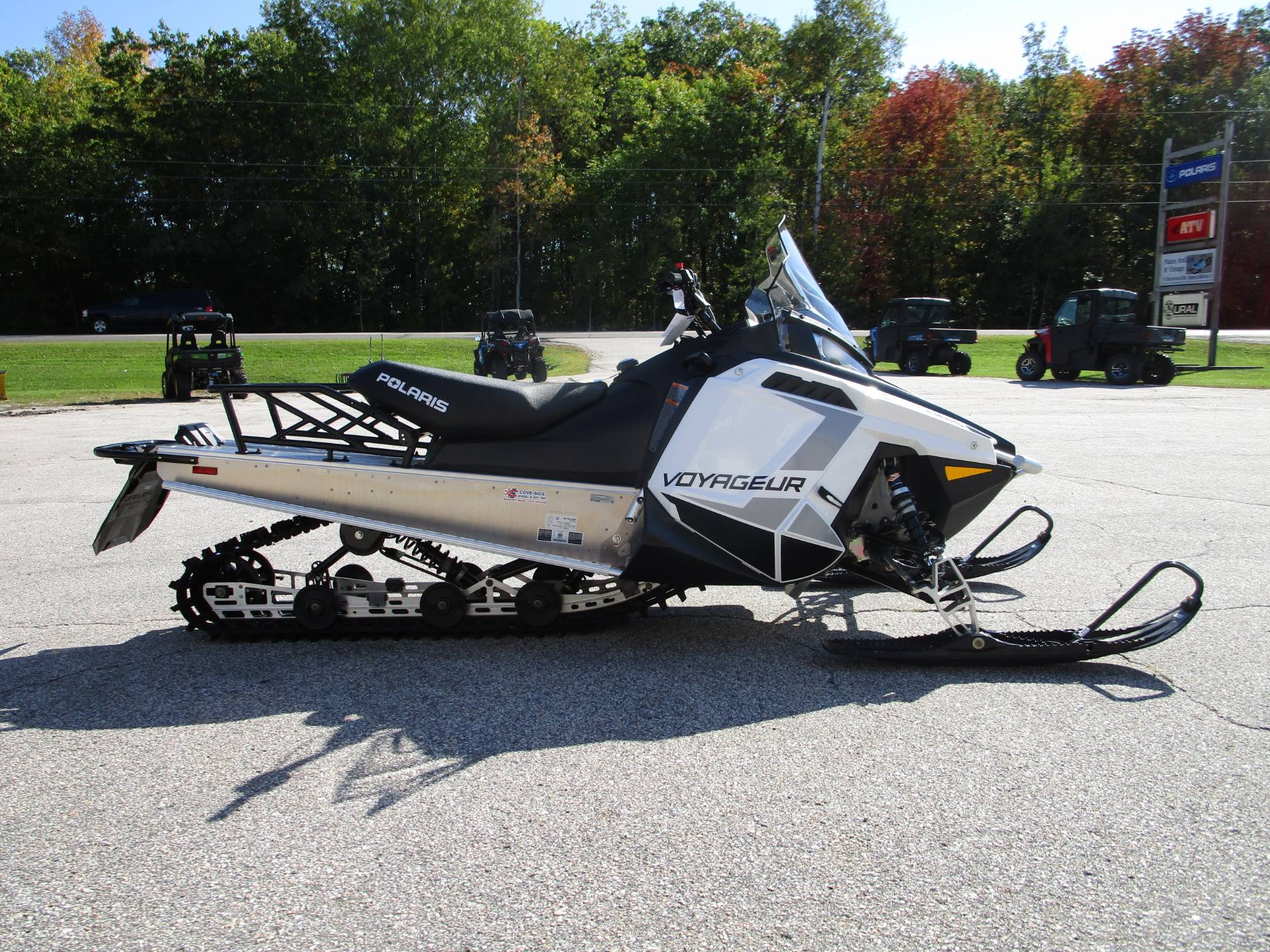 2020 Polaris 550 Voyageur 144 ES in Newport, Maine - Photo 1