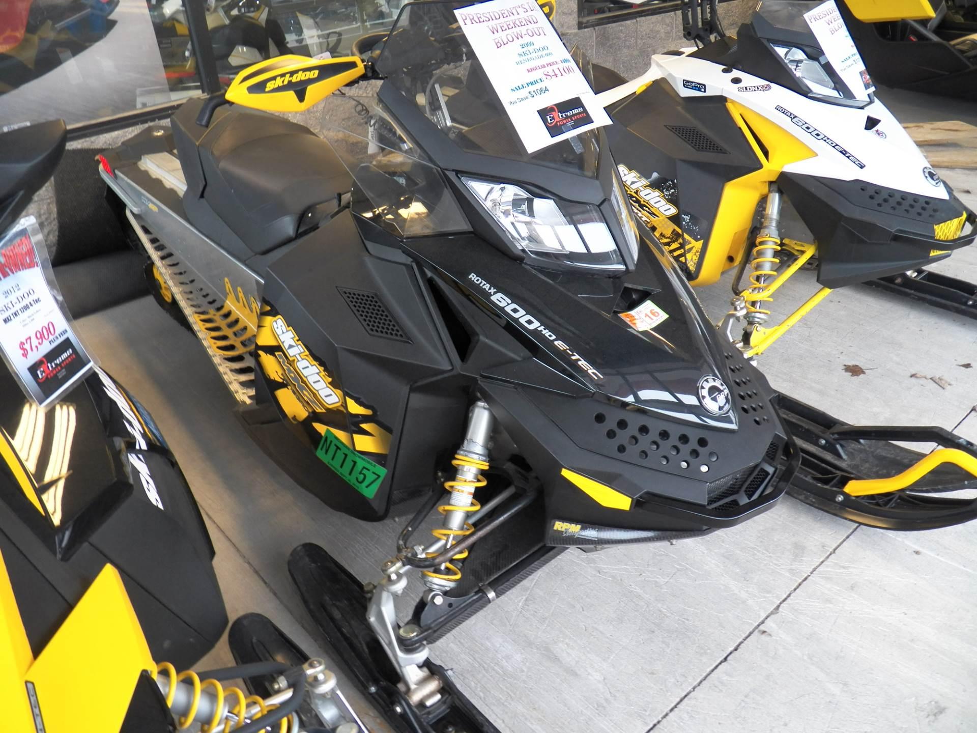 2009 MX Z Renegade 600 H.O. E-TEC