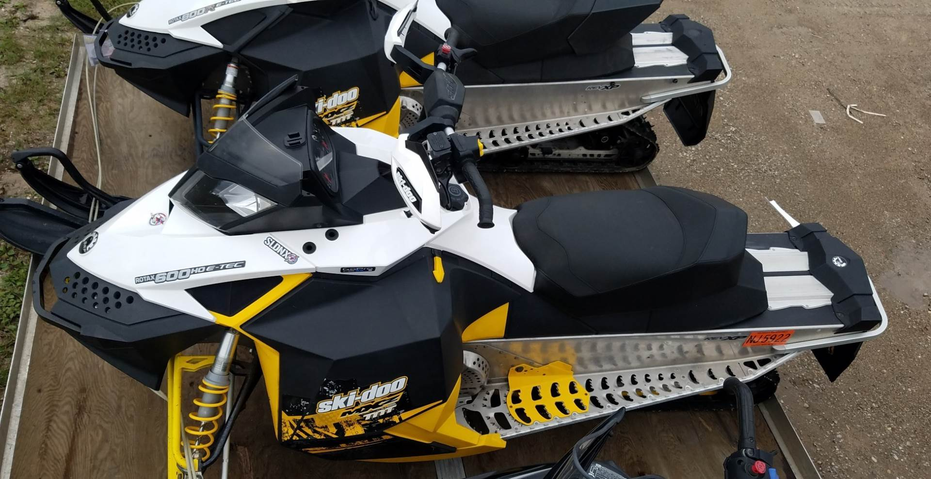 2011 Ski-Doo MX Z® TNT™ E-TEC 600 H.O. in Gaylord, Michigan