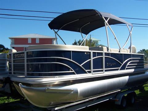2017 Sylvan 8522 Party Fish TRI-TOON in Grant, Florida
