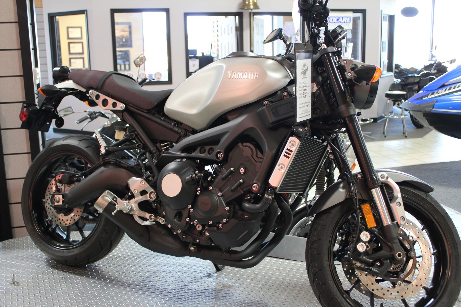 2016 Yamaha XSR900 in Rock Falls, Illinois