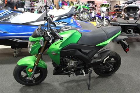 2017 Kawasaki Z125 Pro in Rock Falls, Illinois