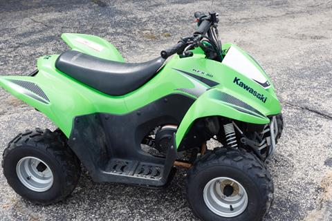 2007 Kawasaki KFX® 50 in Rock Falls, Illinois