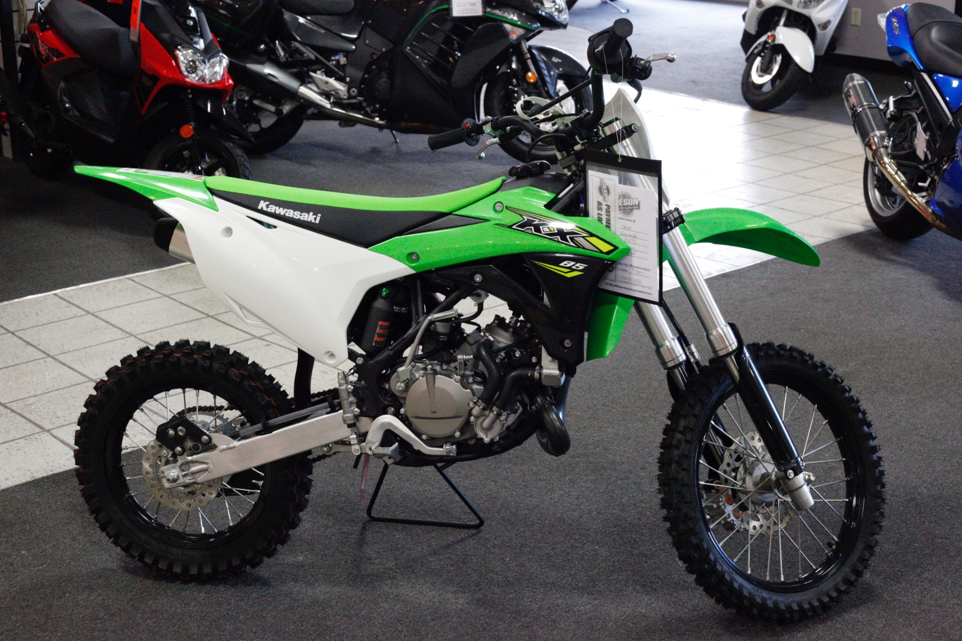 2018 Kawasaki KX 85 in Rock Falls, Illinois