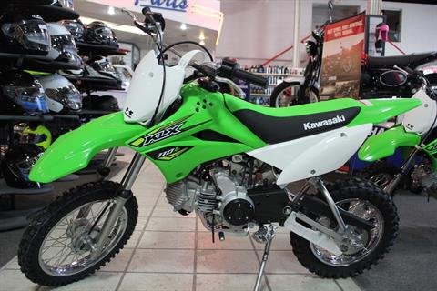 2018 Kawasaki KLX 110L in Rock Falls, Illinois
