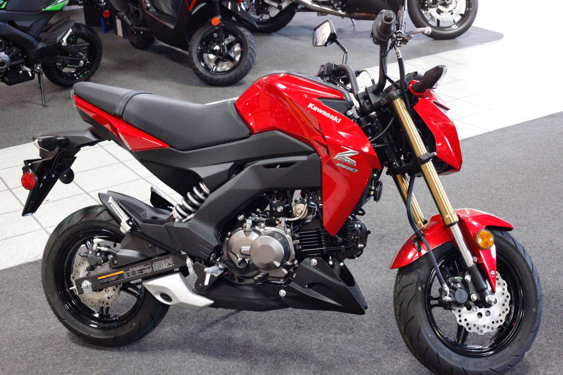 New 2018 Kawasaki Z125 Pro Motorcycles In Rock Falls Il